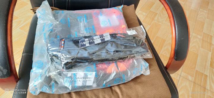 斯帕曼男包单肩包2020新款男士斜挎包大容量手提包休闲帆布包男潮牌包包 蓝色 晒单图