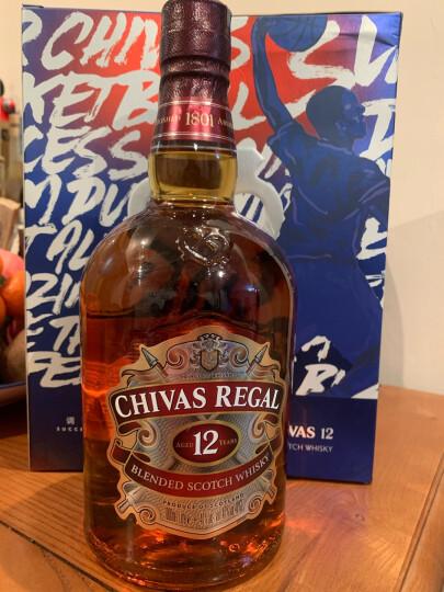 芝华士(Chivas)洋酒 12年 苏格兰威士忌 X 曼联  500ml 双瓶礼盒 晒单图