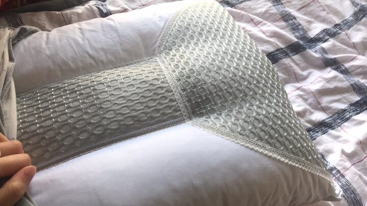 睡眠博士(AiSleep)荞麦舒睡草本枕 一对装(2只) 颈椎枕 晒单图