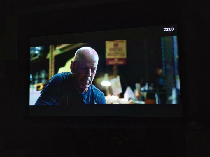 经科(Jing Ke)电动幕布高清投影幕布16:9投影机屏幕120/100英寸投影仪幕布 黑色外壳一右出线 150英寸 16:10 晒单图