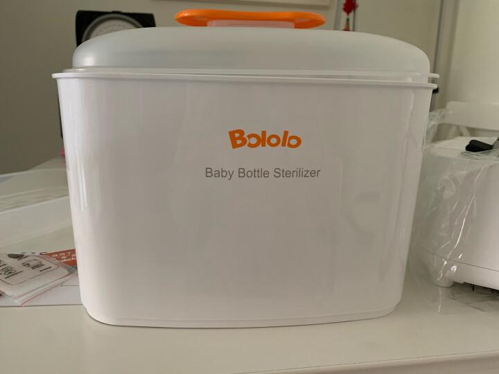 波咯咯(bololo) 婴儿奶瓶消毒器带烘干二合一多功能宝宝奶瓶蒸汽消毒锅 晒单图