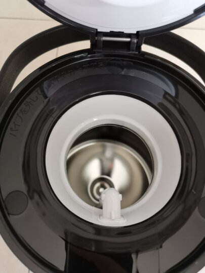 日本进口虎牌TIGER 时尚简约大容量双层不锈钢保温壶 咖啡色1.6L  真空轻便家用热水瓶 PWM-B160TV 晒单图
