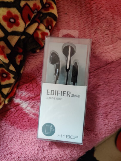 漫步者(EDIFIER) H180P 手机耳机 立体声耳塞 兼容性强 可通话 摩卡黑 晒单图