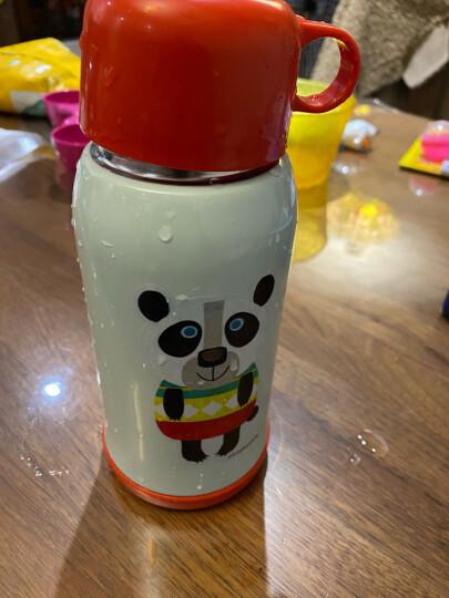 Tiger/虎牌儿童保温杯不锈钢真空学生水壶 MBJ大熊猫CP(杯盖款) 晒单图