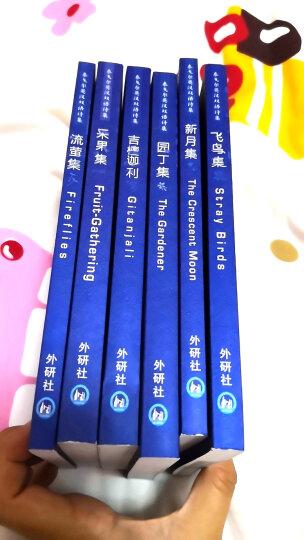 泰戈尔英汉双语诗集(套装 全6册 附MP3光盘2张) 晒单图
