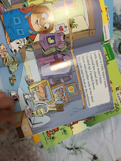 丽声我爱小怪物双语阶梯阅读第一级至第六级套装(点读版 套装共6册 专供网店 附光盘) 晒单图