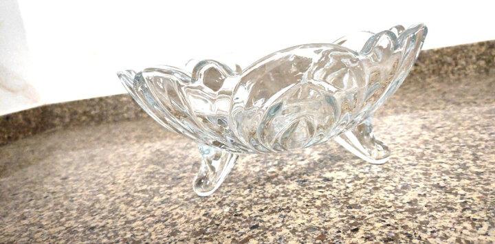 Delisoga 玻璃水果盘 创意烈焰款 大号大容量 欧式果斗糖果干果篮 坚果零食沙拉碗 客厅摆件家用礼品装饰 晒单图