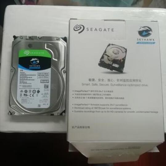 希捷(Seagate)3TB 64MB 5900RPM 监控级硬盘 SATA接口 希捷酷鹰SkyHawk系列(ST3000VX010) 晒单图