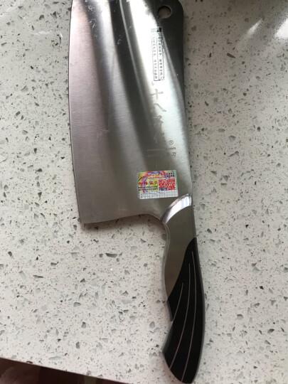 十八子作刀具 斩骨专用加重不锈钢菜刀雀之屏斩骨刀S2601-A 晒单图