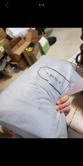 三利 A类加厚长绒棉缎边大浴巾 70×150cm 纯棉吸水 柔软舒适 带挂绳 婴儿可用 雪白色 晒单图