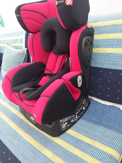 好孩子(gb) 儿童婴儿安全座椅0-4-7-12岁 双向安装 汽车用isofix接口/安全带安全座椅 高速侧碰版中国红CS726-京物流 晒单图