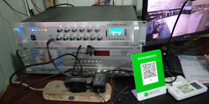 帝顿 广播喇叭高音户外号角大无线扬声器学校园区乡村农村公共预警喇叭 有线广播:2个200W喇叭+500W功放(送话筒) 晒单图