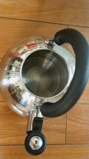 美厨(maxcook)烧水壶 304不锈钢水壶 6L加厚鸣音 煤气电磁炉通用 乐厨系列MCH418 晒单图