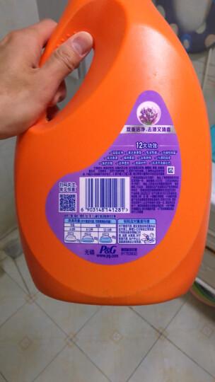 汰渍 Tide 洁净除菌洗衣液(洁雅百合香)3kg/瓶 (新旧香型随机发货) 晒单图