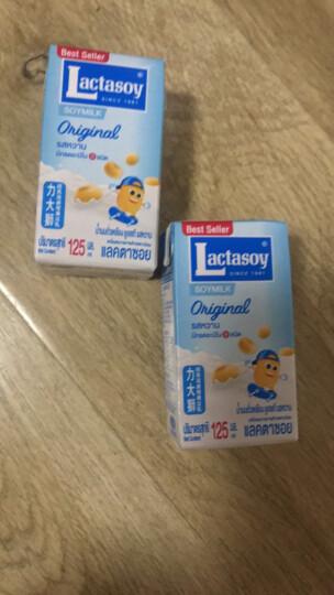 力大狮 Lactasoy 巧克力味豆奶 125ml*6盒 泰国进口 营养早餐 豆奶 晒单图