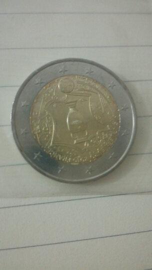 【甲源文化】欧洲-法国欧洲杯纪念币 2016年 双色币 有评级封装币 全新品 外国硬币 单枚圆盒装 晒单图