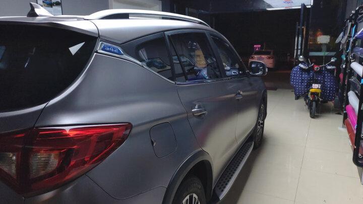 卡莱克 汽车改色膜电光金属灰车身改装贴膜哑光电镀改色贴纸全车整车电光膜 电光青雾蓝1.52*18M 晒单图