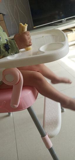 Tobaby 宝宝餐椅婴儿便携儿童餐桌椅子多功能可折叠吃饭餐椅 TB-518樱花粉 晒单图