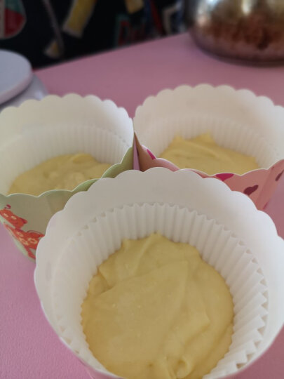 学厨 CHEF MADE 蛋糕模具6连杯不粘玛芬蛋糕烘焙模具蛋挞模面包烘培模具烤盘烤箱用黑色WK9711 晒单图