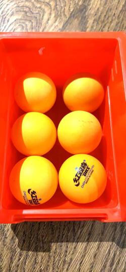红双喜(DHS) T1024乒乓球台 可折叠 室内比赛型乒乓球桌 内附网架 晒单图
