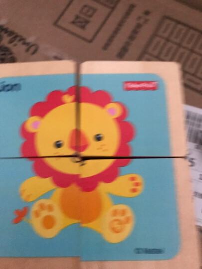 费雪 Fisher Price 益智早教玩具 木质环保六面画-狮子FP1001A 晒单图