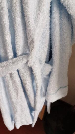 竹之锦 家居家纺 竹纤维汉服领睡衣浴袍 女款 粉色 均码 晒单图