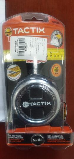 拓为(Tactix) 235305 钢卷尺 5米公英制钢卷尺超越日本德国进口品质 晒单图