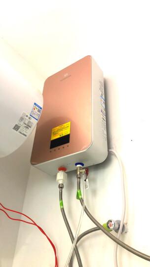 沐克(MOKER) 电热水器 即热式电热水器淋浴洗澡16升立式双胆速热储水全智能恒温大水量X3/ 16L/7KW/玫瑰金 晒单图