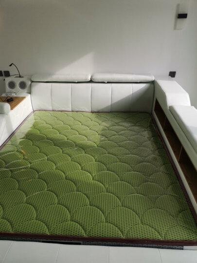 梵萨帝 床 皮床布艺床双人榻榻米1.8米 床+床头柜*2+环保椰棕床垫 智能旗舰版(按摩榻+保险柜+音响+床尾+高床边柜) 晒单图