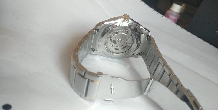 西铁城(CITIZEN)手表 机械不锈钢间玫瑰金表带男表NP4064-56AB 晒单图