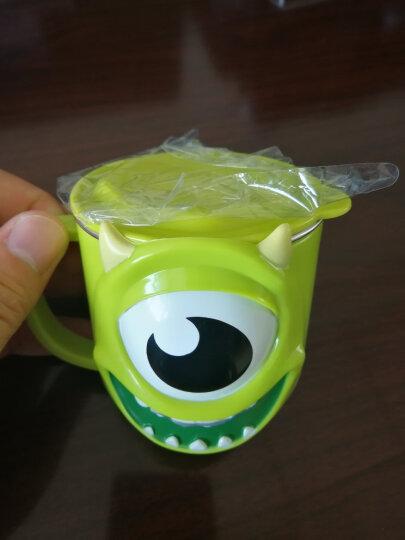 迪士尼(Disney)婴儿童保温杯 宝宝单柄训练喝水口杯子小孩家用学饮杯不锈钢带盖290ML HM1623P 公主粉 晒单图