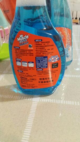 威猛先生 多功能玻璃清洁剂 500g+420g 玻璃水 不留水痕 去污防尘(新老包装随机发货) 晒单图