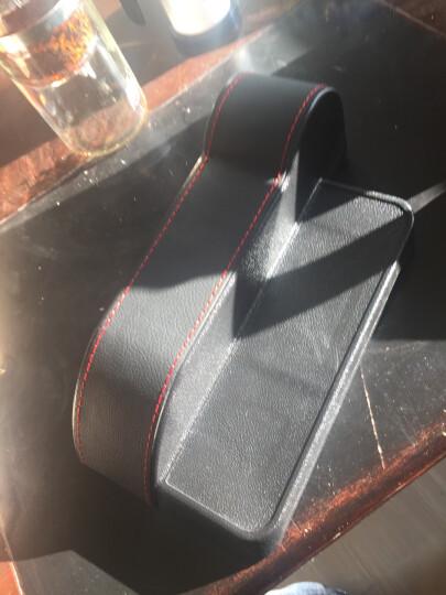 纳斯里(Nasili)汽车夹缝收纳盒车载储物盒车座椅缝隙储物盒防漏置物盒汽车用品储物袋 升级款预留充电孔【黑色主驾驶】1个 晒单图