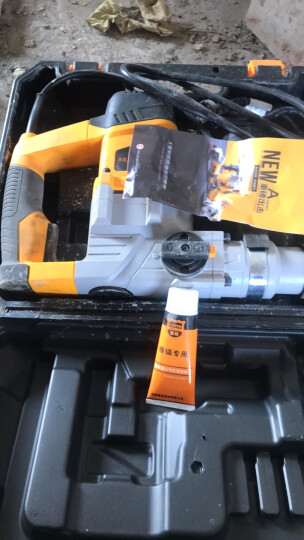 美国雷亚(Leiya)多功能电锤两用电镐工业级大功率冲击钻家用电钻混凝土克星 30-02电锤(出厂套)1280W 晒单图