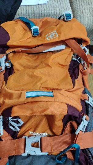 探路者(TOREAD) 登山包 户外男女通款60升双肩背包 徒步旅行背包 ZEBF80509 柠绿 晒单图