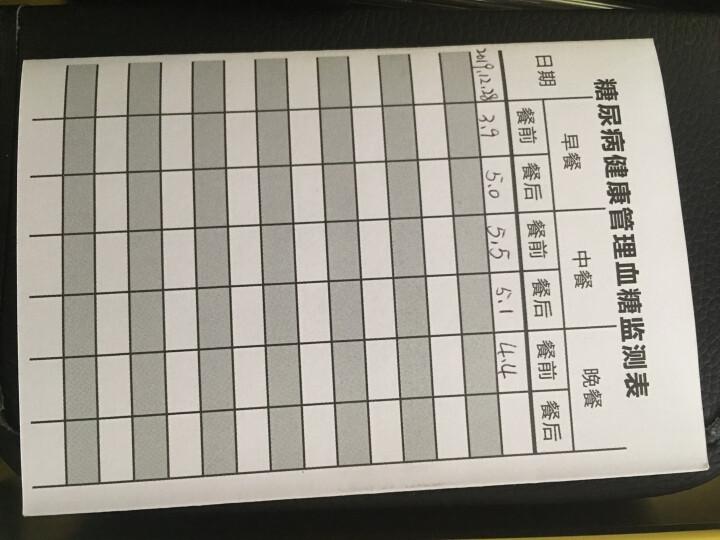 三诺血糖仪家用全自动安稳免调码测血糖血糖仪家用50支独立装套装测试仪(含仪器试纸采血针采血笔) 晒单图