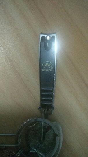 博友(BOYOU)指甲刀指甲剪指甲钳单个儿童婴儿中小号美甲工具剪指甲刀脚趾甲剪带指甲锉 607(小号58mm) 晒单图