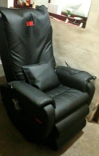 久工(LITEC)按摩椅家用全身 多功能太空舱零重力电动按摩椅3D机械手全自动按摩沙发 黑色皮革 晒单图