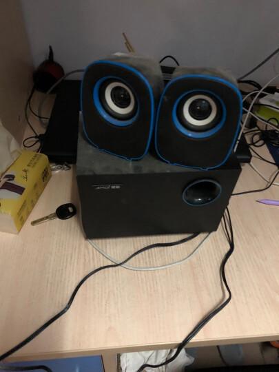 漫步者(EDIFIER) R208PF 带SD/USB/FM加线控的2.1多媒体有源音箱 音响 电脑音箱 黑色 晒单图