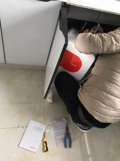 阿诗丹顿(USATON)小厨宝6.6升/10升上出水下出水储水式即热式电热水器厨宝厨房小型热水器家用 5升上 晒单图