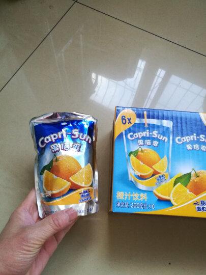 果倍爽 橙汁味 果汁饮料 200ml*6 连包 晒单图