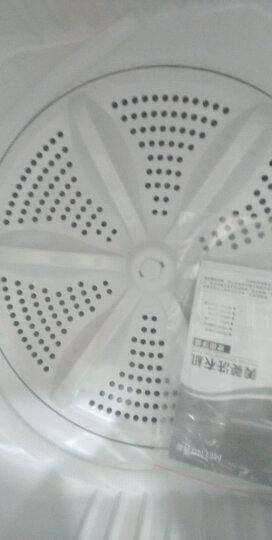 美菱(MELING) 9公斤大容量双桶洗衣机 省水省电 下排水 白色家用 XPB90-22Q1S 晒单图
