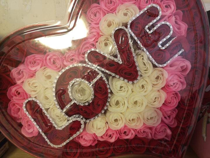 I'M HUA HUA99朵love红香皂玫瑰花礼盒鲜花速递玫瑰花七夕情人节礼物纪念日生日礼物送女友 晒单图