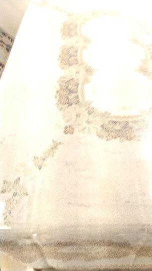 布蓝格 日本进口桌布防水防油桌垫免洗餐桌布欧式茶几布长方形台布塑料欧式加厚桌垫 米色 132*180cm 晒单图