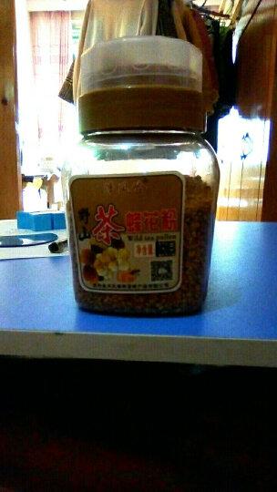 清风岭 【肖氏蜂蜜】野山茶花粉 蜂花粉 非破壁花粉 250g 送木勺 晒单图