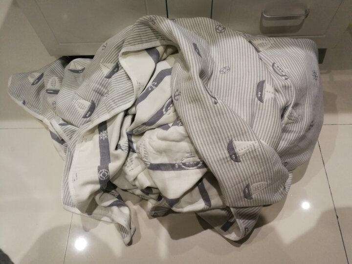 维尔凯毛巾被纯棉 全棉色织提花针织毯子 加厚夏凉被盖毯 儿童成人午睡沙发毯1.5米 2米办公室休闲毯 时尚色彩P(6层纱) 120*150cm 晒单图