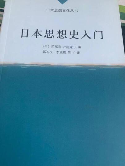 日本思想文化丛书:日本思想史入门 晒单图