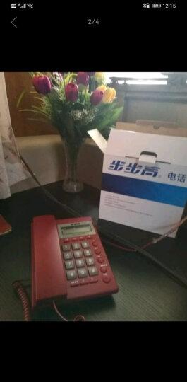 步步高(BBK)电话机座机 固定电话 办公家用 经久耐用 座式壁挂式双用 HCD6082大红 晒单图