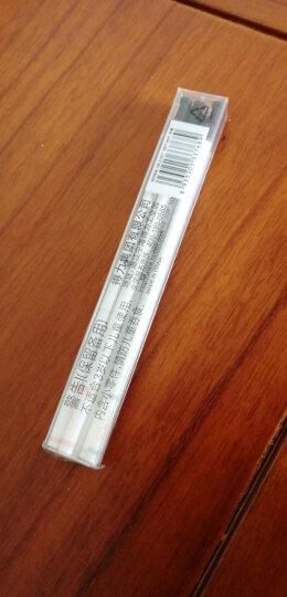 得力(deli)0.5mm经典办公中性笔签字笔 子弹头蓝色12支/盒 晒单图
