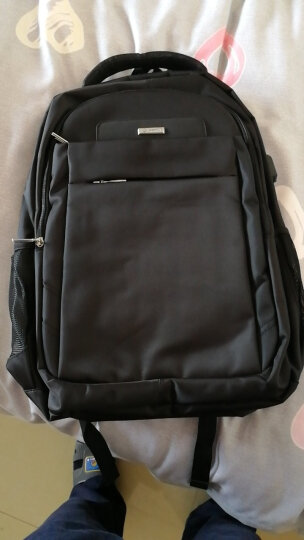 老人头(LAORENTOU)双肩包16英寸笔记本男女学生书包休闲运动大容量旅行背包 840J001L2G 蓝色大号 晒单图